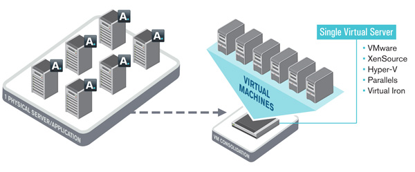 Virtualization schematic